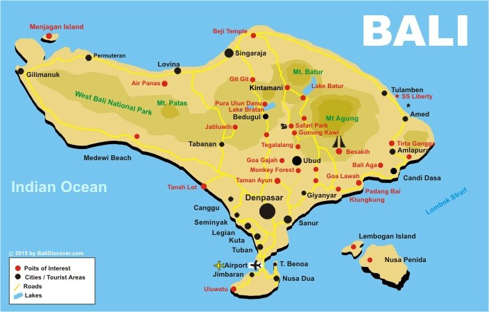Bali-Finder Bali Map