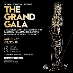 The Grand Gala at W Bali