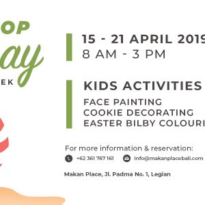 Hop Hop Hooray Easter Week 2019