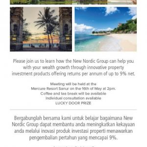 Wealth and Growth Gathering by Bali Water World