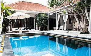 Three Bedroom Villa For Long Lease Seminyak Bali