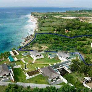 Cliff front Land 49200 sqm in Bingin Padang Padang Jimbaran Bali