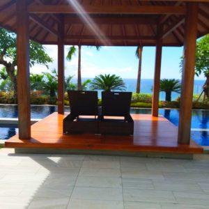 Four bedroom pool Villa Cliff Front type 1000/1330 for sale at Kutuh Jimbaran Bali
