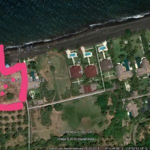 Beach front land 5350 sqm North Coast of Bali