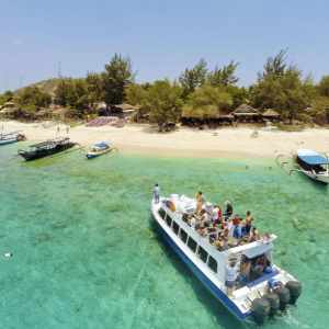 Fast Boat Transfers between Bali and Gili Trawangan