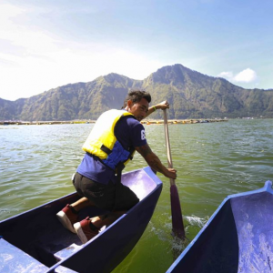 Lake Batur: Kayak and Natural Hot Spring Experience